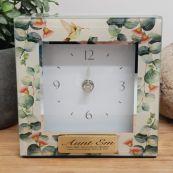 Aunt Glass Desk Clock - Gumtree