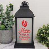 Naming Day LED Decorative Lantern - Black