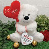 I Love You Bear with Heart Tin