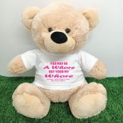 Valentines Bear You may Be A - 40cm Cream