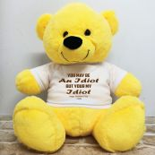 Valentines Bear You may Be A - 40cm Yellow
