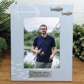 Personalised 40th Birthday Fishing Frame 6x4