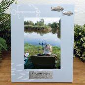 Personalised 90th Birthday Fishing Frame 6x4