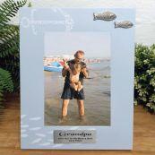 Personalised GrandPa Fishing Frame 6x4