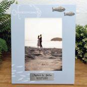 Personalised Wedding Fishing Frame 6x4