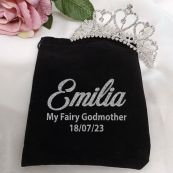Godmother Medium Heart Tiara in Personalised Bag