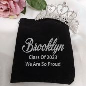 Graduation Medium Heart Tiara in Personalised Bag
