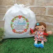 Mini Rag Doll  Matilda with Personalised Play Sack