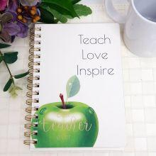 Best Teacher Ever Journal & Pen - Inspire