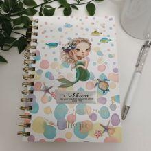 Mum Journal & Pen - Mermaid