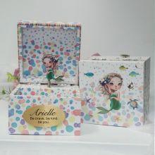 Personalised Birthday Music Box - Mermaid