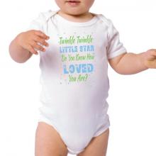 Twinkle Twinkle Baby Bodysuit - Blues