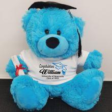 Personalised Graduation Bear with Mortar Board