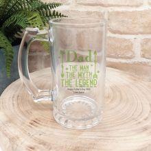 Dad - Man, Myth, Legend  Beer Stein