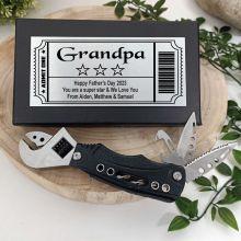 Grandpa Crescent Plier Combination Tool Gift Boxed