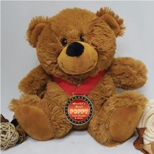 Pop Personalised Teddy Bear with Award Medal