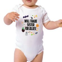 Will Trade for Lollies - Halloween Bodysuit