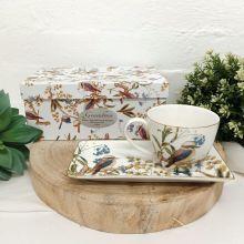 Aussie Birds Breakfast Set Cup & Sauce in Grandma Box