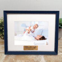 Personalised Godmother Photo Frame Amalfi Navy 5x7
