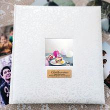 13th Birthday Drymount Photo Album Lace