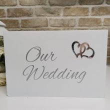 Wedding White Wishing Well Card Box