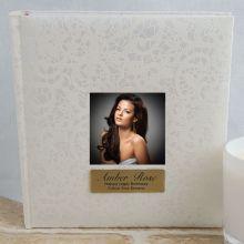 Personalised Cream Lace  Birthday Photo Album - 200
