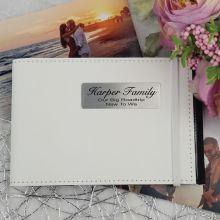 Personalised Brag Photo Album - White