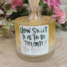 Teacher  Reed Diffuser Room Fragrance - Sweet