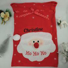 Personalised Ho Ho Ho Santa Christmas Sack