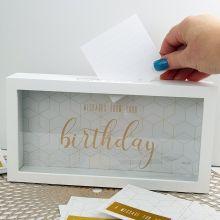 Birthday Message Keepsake Box