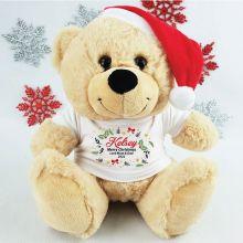 Christmas Personalised Plush Bear - Reef