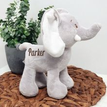 Personalised Safari Elephant 28cm