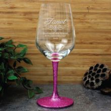 Mother Of The Groom Engraved Personalised Wine Glass 450ml