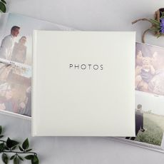 Glamour White 200 Photo Album