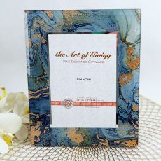 Fortune of Blue 5x7 Photo Frame