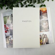 Profile Glamour White Photo Album - 300 Photos
