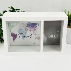 Travel & Bills Money Box