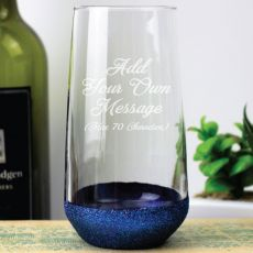 Custom Engrave Glass Tumbler - Your Design