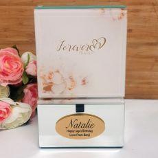 Forever Always Birthday Mirrored Trinket Box