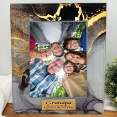 Grandpa Personalised Photo Frame 5x7 Treasured Cove