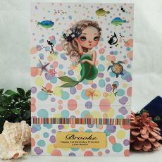 1st Birthday Trinket Keepsake Box - Mermaid