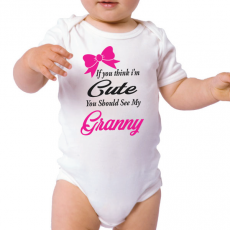 You Should See My Grandma Baby Bodysuit