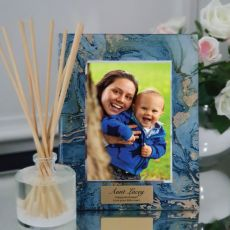 Aunt Personalised Frame 5x7 Photo Glass Fortune Of Blue