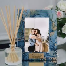 Birthday Personalised Frame 5x7 Photo Glass Fortune Of Blue