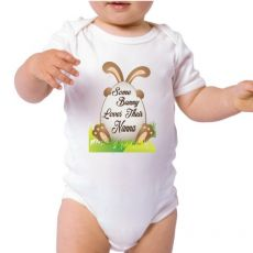 Some Bunny Easter Baby Bodysuit - Nanna