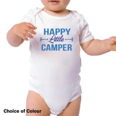 Happy Little Camper Baby Bodysuit