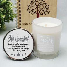 Fragrant Teacher Candle 45hrs  - Definition