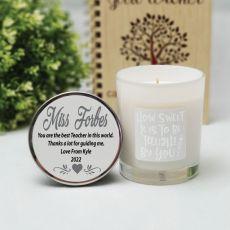 Fragrant Teacher Candle 45hrs  - How Sweet