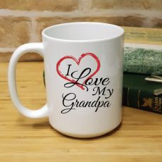I Love My Grandpa 15oz Personalised Coffee Mug