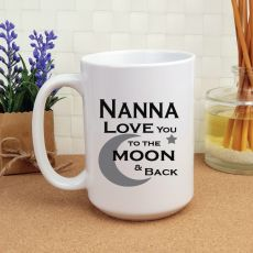Nana Personalised Coffee Mug 15oz  - Moon & Back